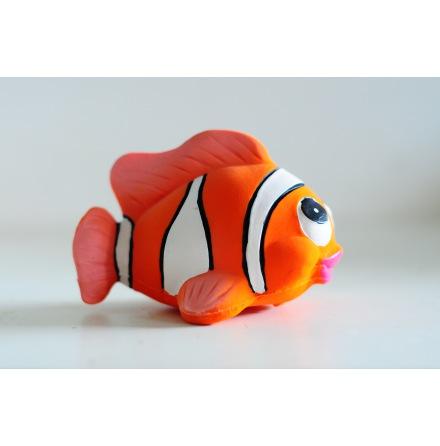 Lanco clownfisk i naturgummi, helgjuten