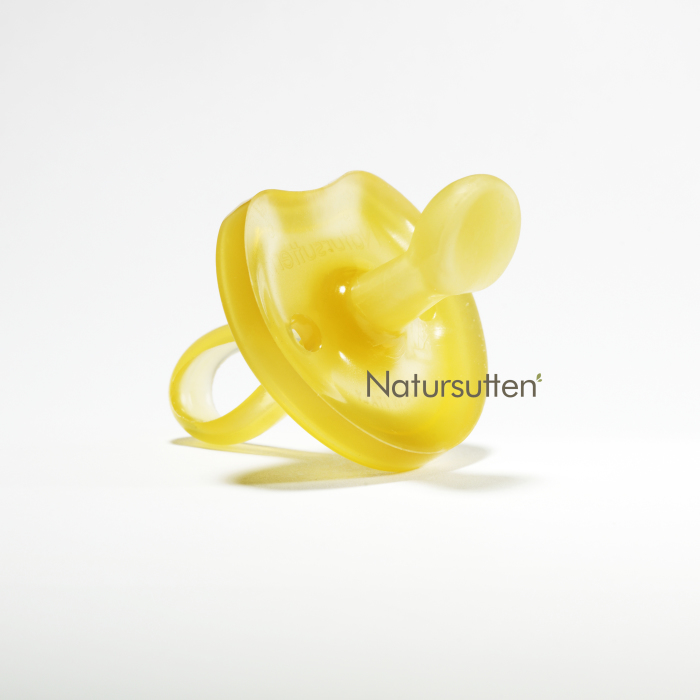 Natursutten napp i naturgummi, butterfly orthodontic