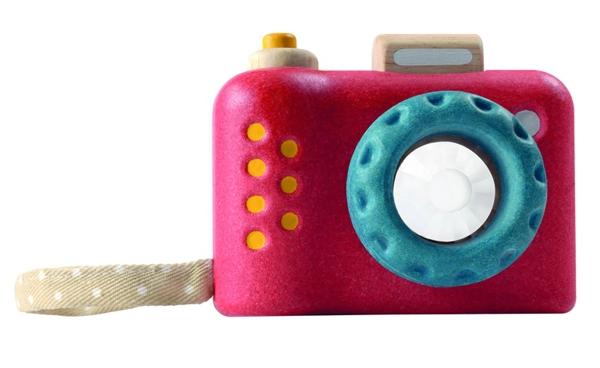 PlanToys leksakskamera m kalejdoskåp