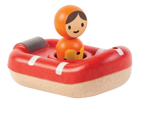 PlanToys coastguard boat