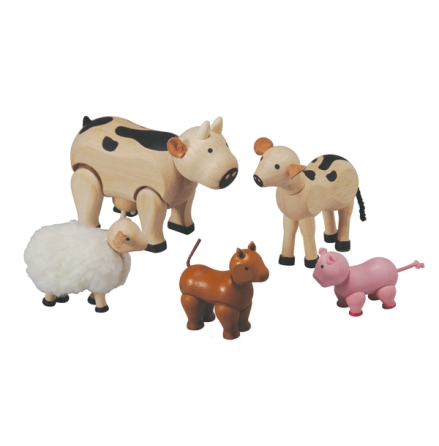 PlanToys farm animals
