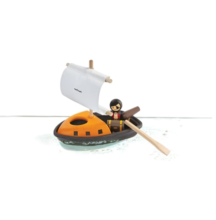 PlanToys pirate boat