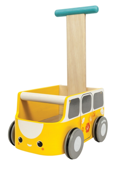 PlanToys van walker yellow