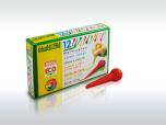 ökoNORM droppformade babykritor, 12 färger