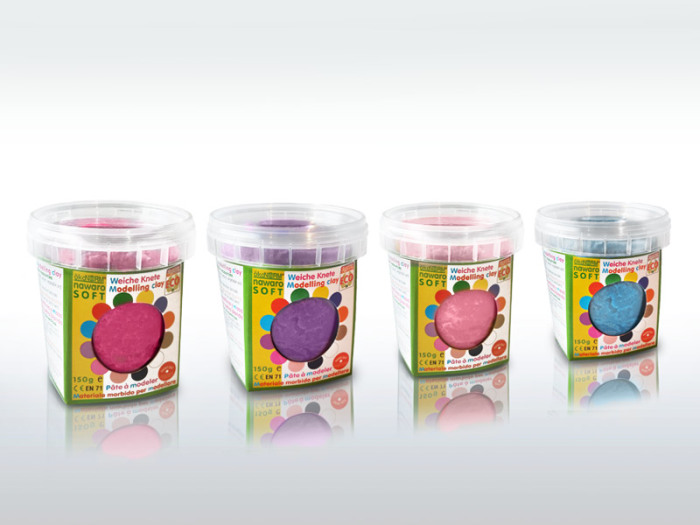 ökoNORM leklera, rosa/cerise/lila/turkos