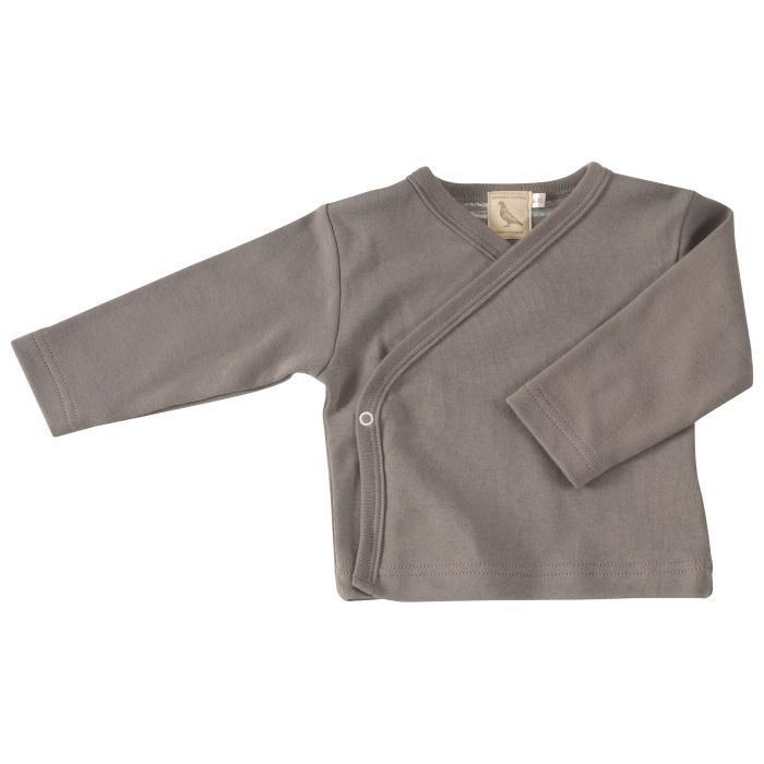 Pigeon grey kimono jacket