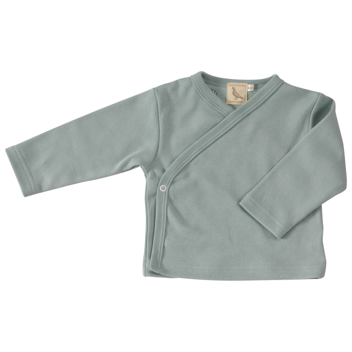 Pigeon turquoise kimono jacket