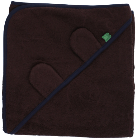 Fred's world bear towel baby brown
