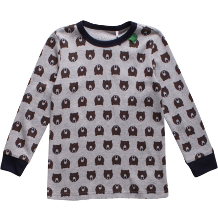 Fred's world bear t-shirt baby grå