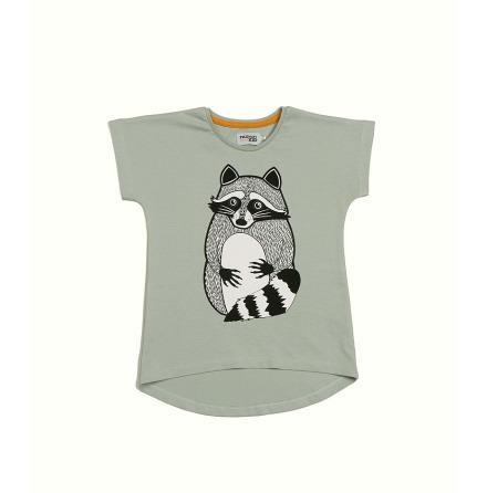 Filemon Kid T-shirt Raccoon Grey