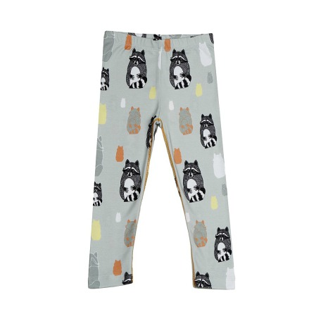 Filemon Kid Leggings AOP Raccoons