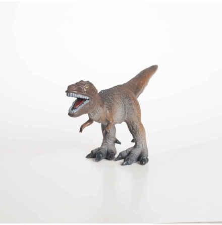 GreenRubberToys tyrannosaurus rex 23 cm i naturgummi