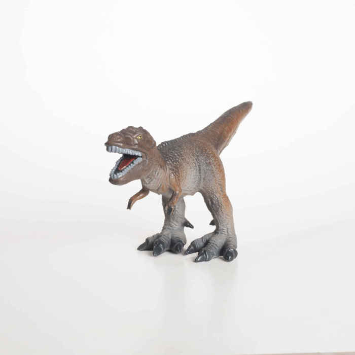 GreenRubberToys tyrannosaurus rex i naturgummi