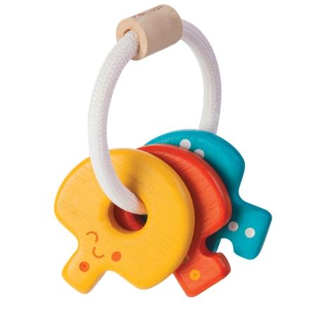 PlanToys nyckelskallra färgglad