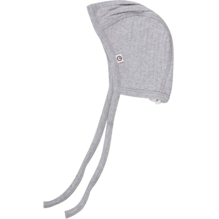 Müsli cozy baby hat grey