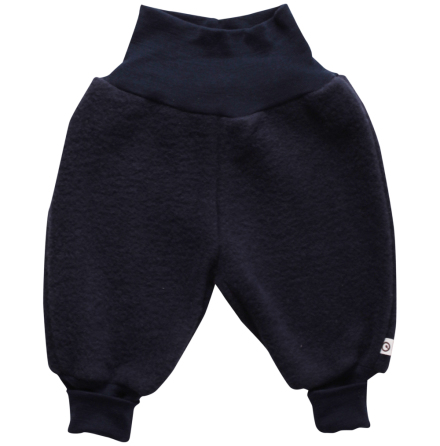 Müsli woolly fleece pants navy