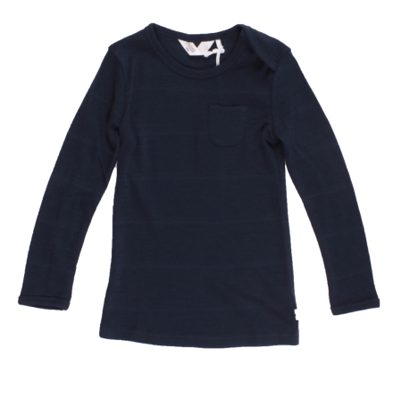 Müsli woolly T navy