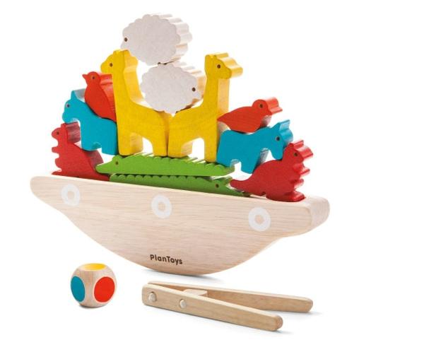 PlanToys sällskapsspel, balansbåt