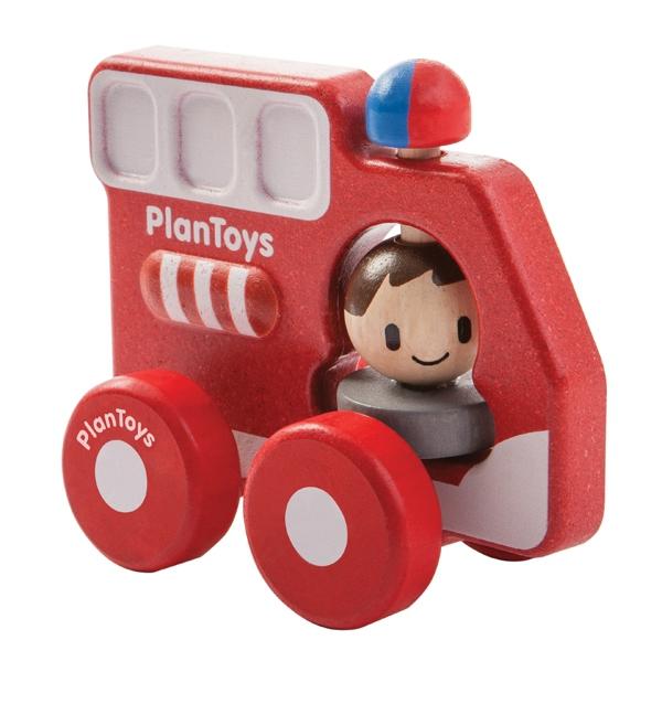 PlanToys brandbil