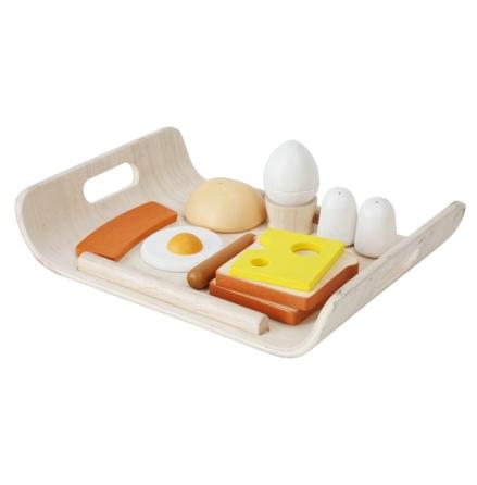 PlanToys frukostmeny med bricka