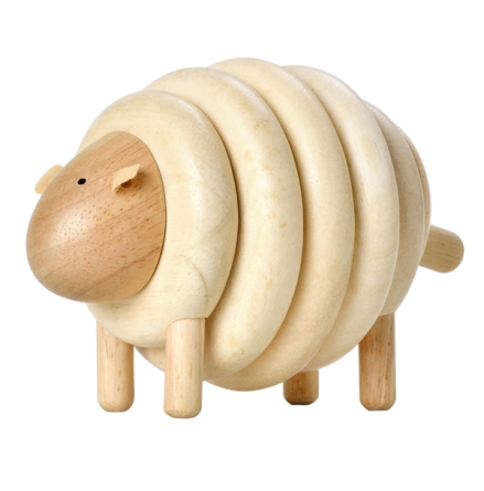 PlanToys stapelleksak lacing sheep