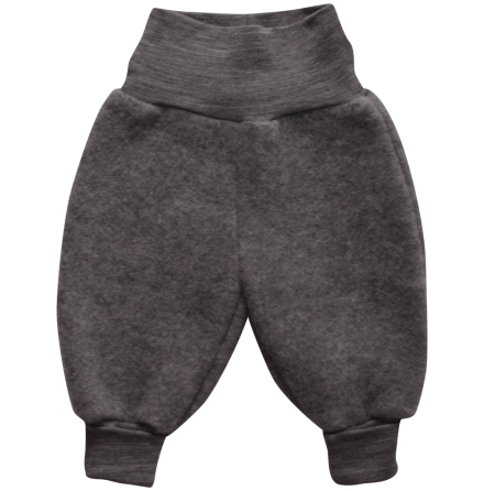 Müsli woolly fleece pants grey