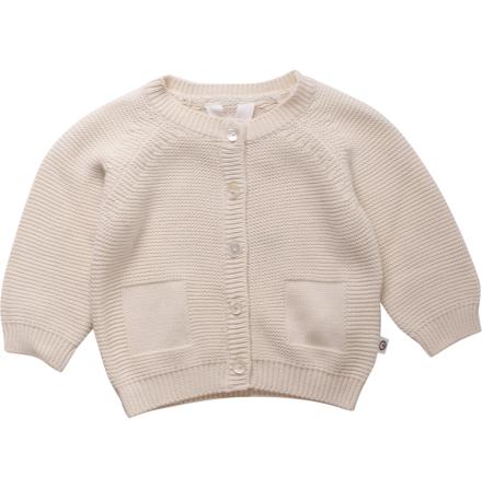 Müsli knit cardigan baby ecru