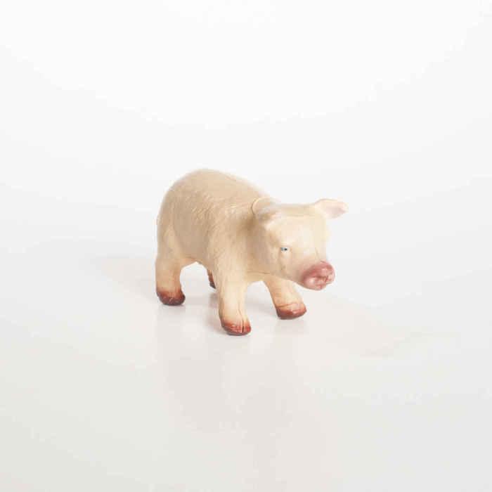 GreenRubberToys gris i naturgummi