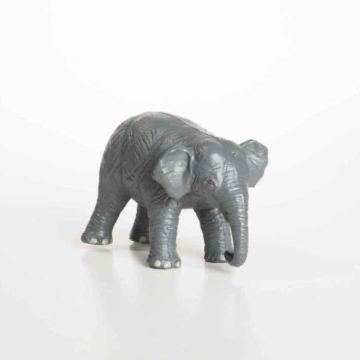 GreenRubberToys elefantunge i naturgummi