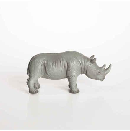 GreenRubberToys noshörning i naturgummi