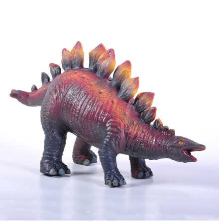 GreenRubberToys stegosaurus i naturgummi