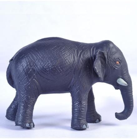 GreenRubberToys elefantmamma i naturgummi