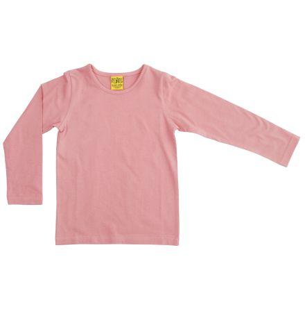 More than a fling (Duns) solid blush LS top