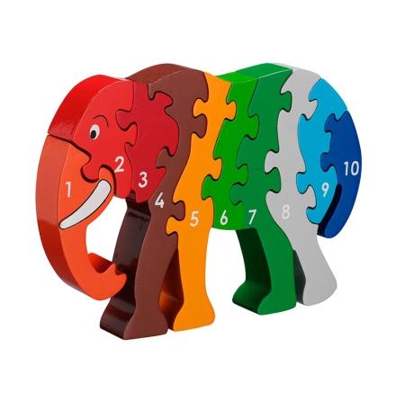 Lanka Kade pusseldjur elefant, 1-10