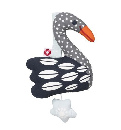 Franck & Fischer Else dark swan musical toy