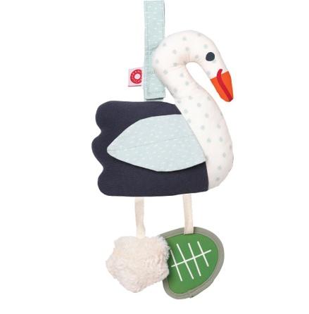 Franck & Fischer Filippa swan activity toy