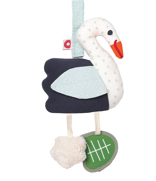 Franck & Fischer Filippa swan activity toy