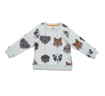 Filemon Kid Sweatshirt AOP Balloon animals green lilly