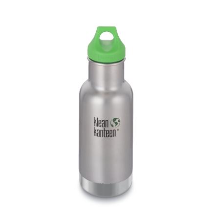 Klean Kanteen isolerad flaska 355 ml, borstat stål
