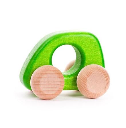 Bajo bil i trä, grön
