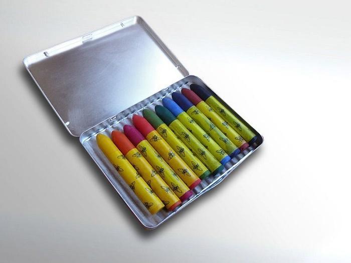 ökoNORM pastellkritor i plåtask