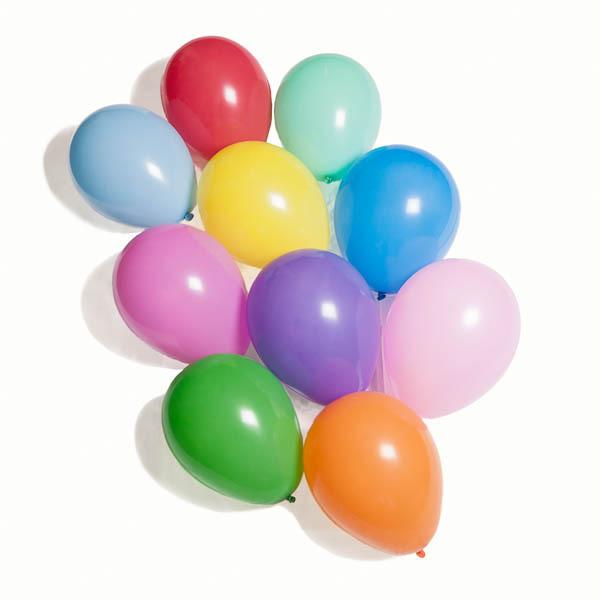 Ballonger, biologiskt nedbrytbara, 10-pack