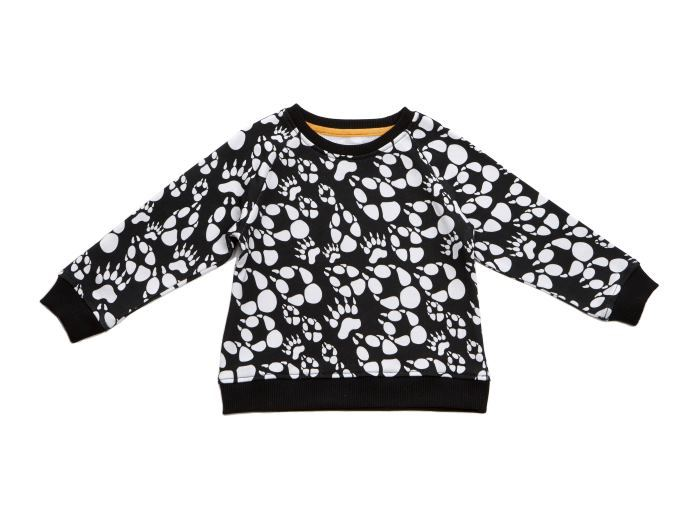 Filemon Kid Sweatshirt AOP Paw
