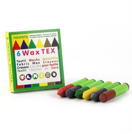 ökoNORM textilkritor 6-pack
