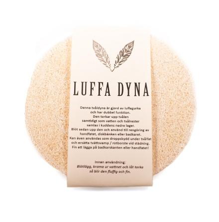 Luffadyna - tvåldyna