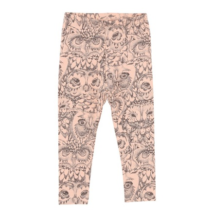 Soft Gallery Paula Leggings Owl Coral