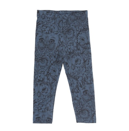 Soft Gallery Paula Leggings Owl Orion Blue