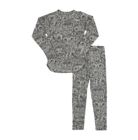Soft Gallery Elliot Pyjamas Owl Drizzle