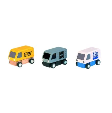PlanToys Småbilar, Budbilar