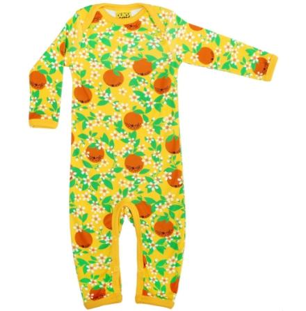 Duns Heldräkt/Pyjamas Gula Apelsiner